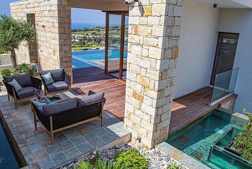 Luxury villa for sale with fantastic views Aphrodite hills resort Paphos_28
