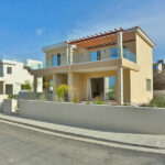 Permanent residency sea view villas for sale Chloraka Paphos
