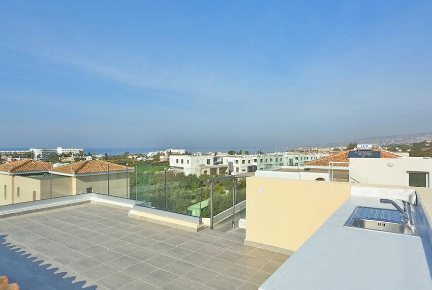 Permanent residency sea view villas for sale Chloraka Paphos_5