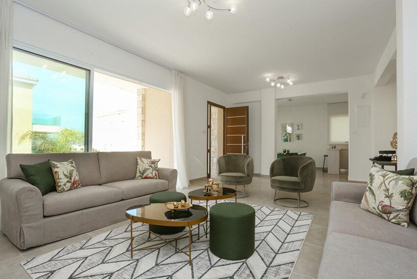 Permanent residency sea view villas for sale Chloraka Paphos_6