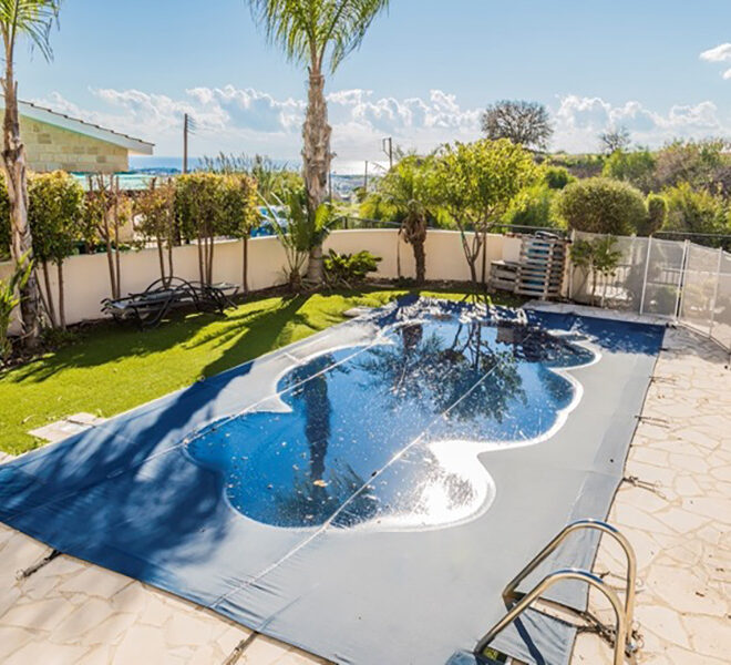 bed villa for sale with private pool Yeroskipou Paphos