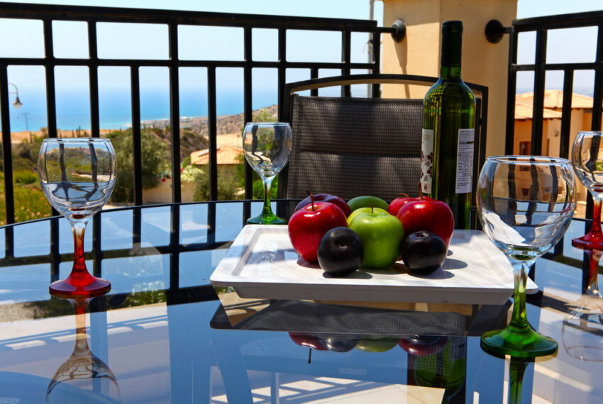 Aphrodite hills rentals 2 bed apartment with communal pool_4
