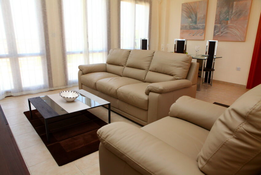 Aphrodite hills rentals 2 bed apartment with communal pool_6