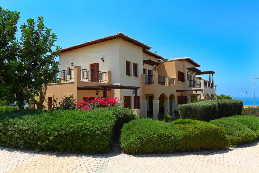 Aphrodite hills rentals 2 bed apartment with communal pool_15