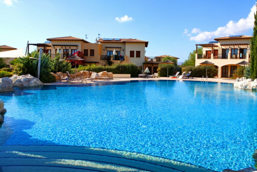 Aphrodite hills rentals 2 bed apartment with communal pool_16