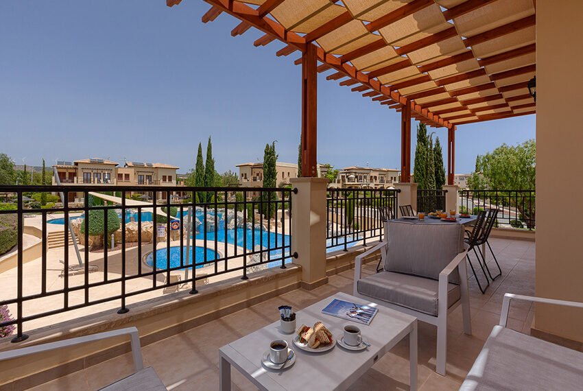 Aphrodite hills resort 2 bed apartment with communal pool_1