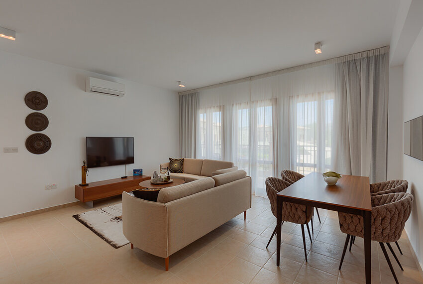 Aphrodite hills resort 2 bed apartment with communal pool_4