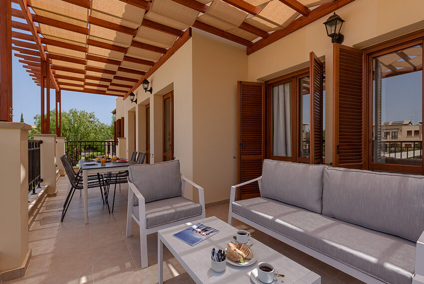 Aphrodite hills resort 2 bed apartment with communal pool_9