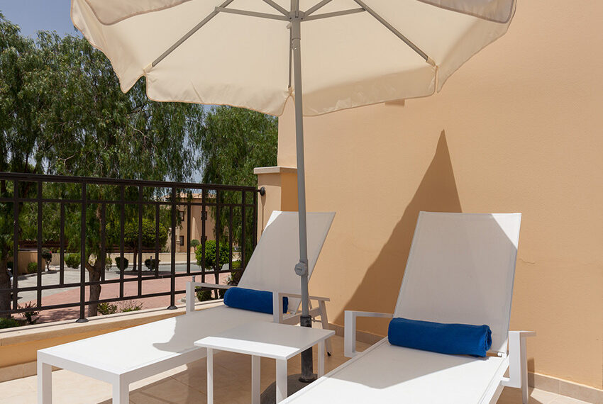 Aphrodite hills resort 2 bed apartment with communal pool_16