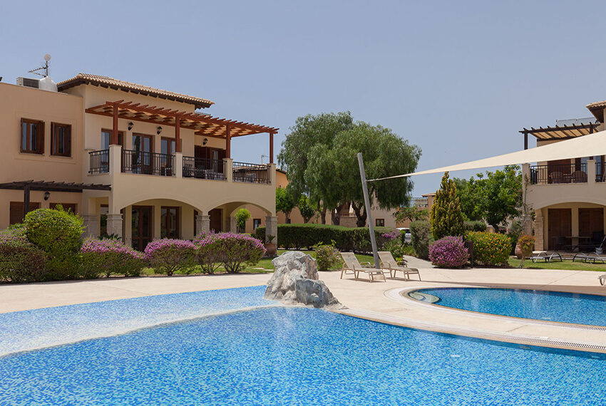 Aphrodite hills resort 2 bed apartment with communal pool_20