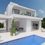 Cyprus permanent residency modern villas for sale