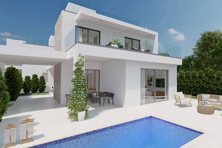 Cyprus permanent residency modern villas for sale