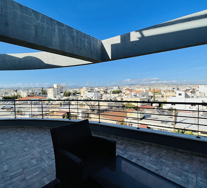 Spacious 3 bedroom penthouse for sale in Limassol