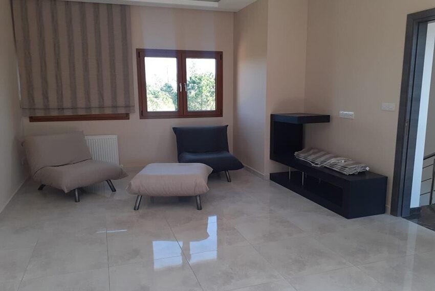 Luxury 5 bed vila for rent long term Kathikas village_17