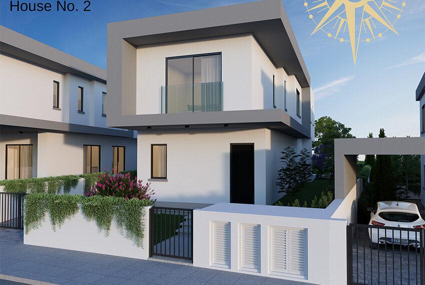 Brand new development of modern villas for sale Limassol_4