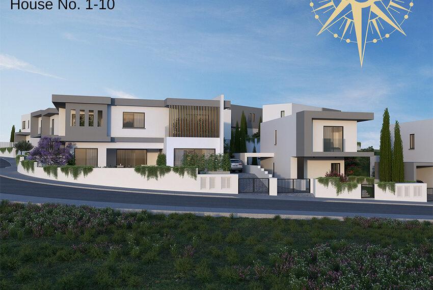 Brand new development of modern villas for sale Limassol_5