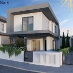 Brand new development of modern villas for sale Limassol