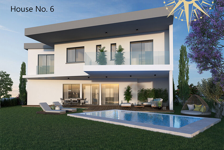 Brand new development of modern villas for sale Limassol_9