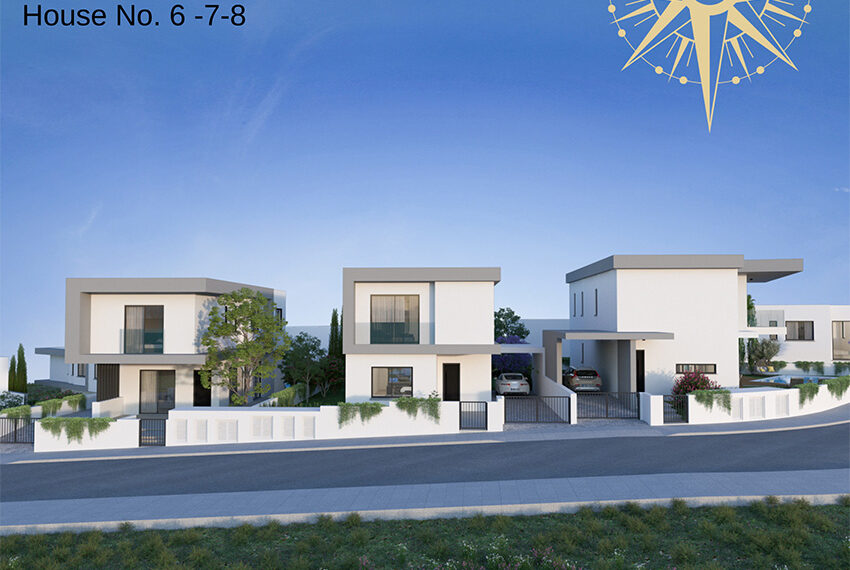 Brand new development of modern villas for sale Limassol_11