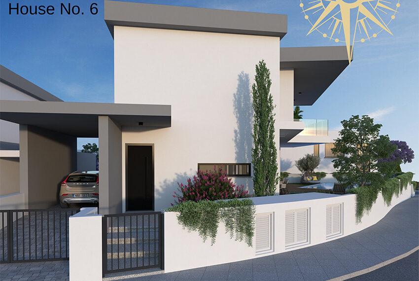 Brand new development of modern villas for sale Limassol_12