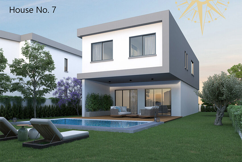 Brand new development of modern villas for sale Limassol_14