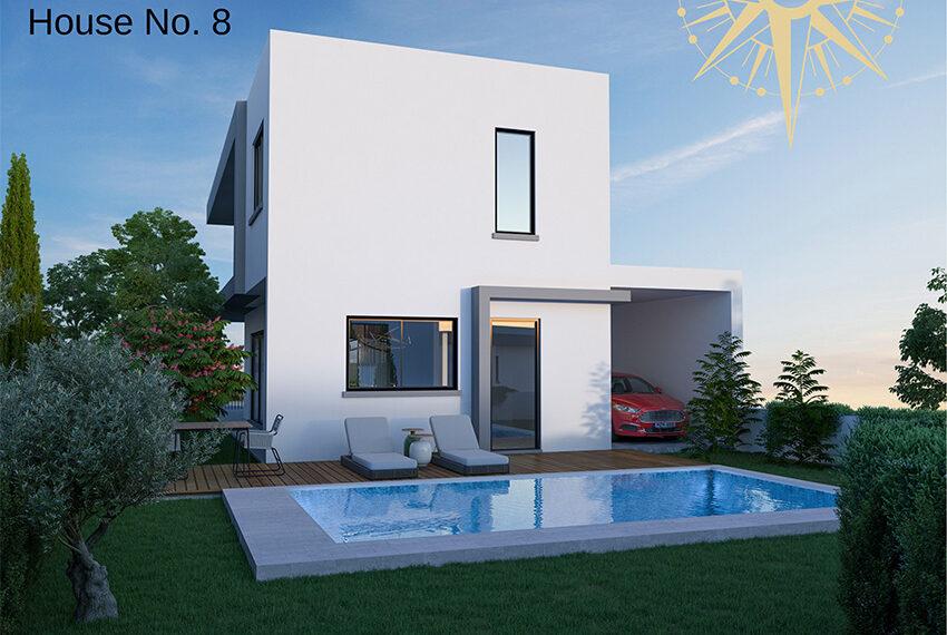 Brand new development of modern villas for sale Limassol_15
