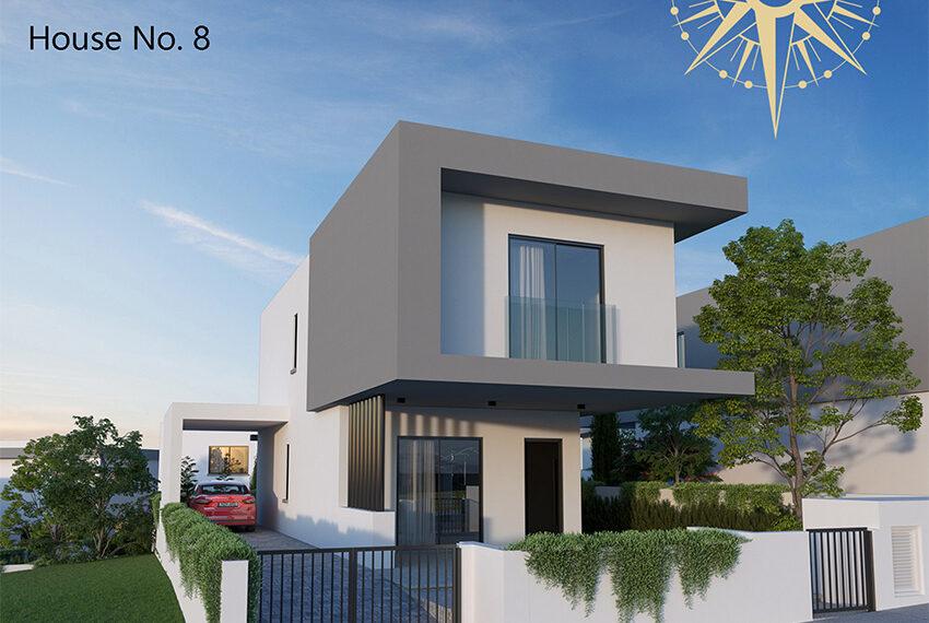 Brand new development of modern villas for sale Limassol_16
