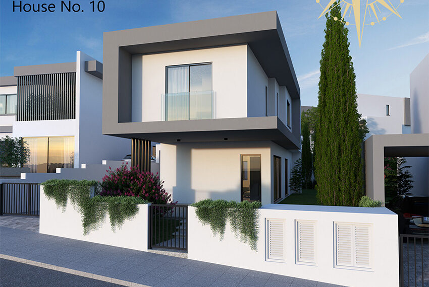 Brand new development of modern villas for sale Limassol_17