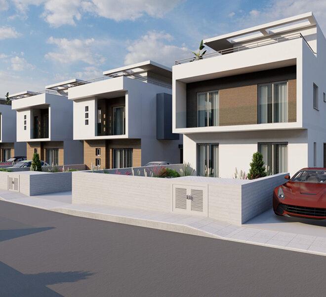 Modern 3 bedroom villas for sale near Elea Golf Club Paphos