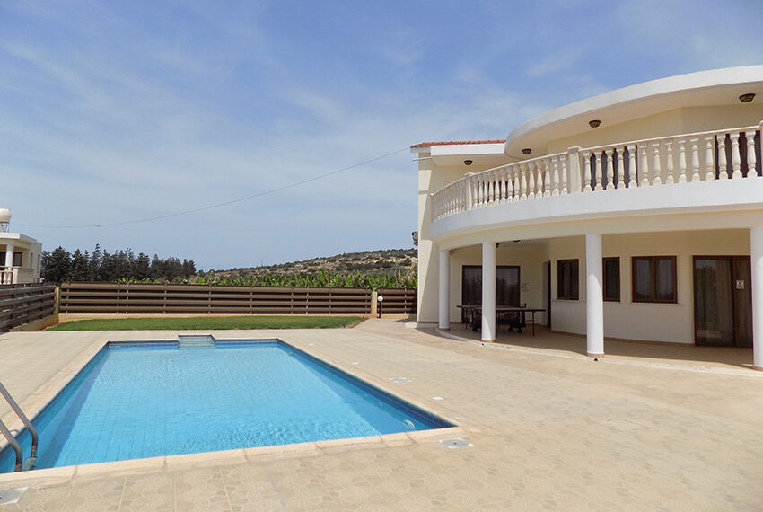 4 bed villa for rent with private pool & sea views Akamas - St. Geroge_39