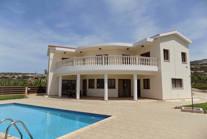 4 bed villa for rent with private pool & sea views Akamas - St. Geroge_40