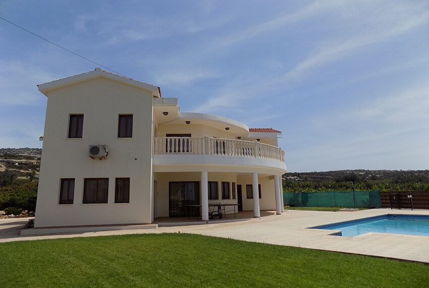 4 bed villa for rent with private pool & sea views Akamas - St. Geroge_42