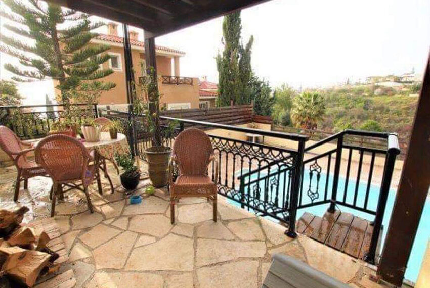 Bungalow for sale with private pool and sea views in Tala _12