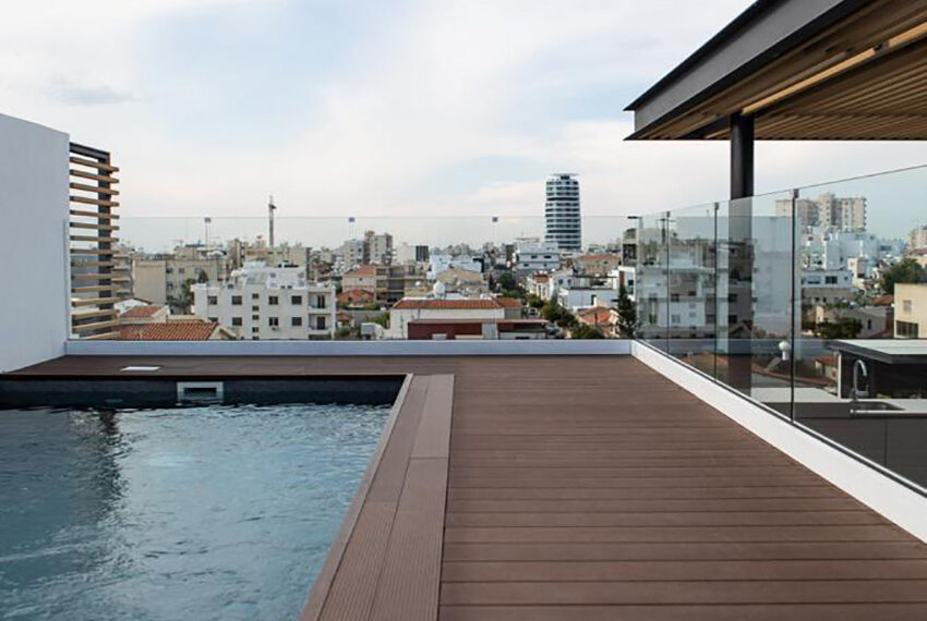 Penthouse for sale with private pool and roof terrace Limassol_4