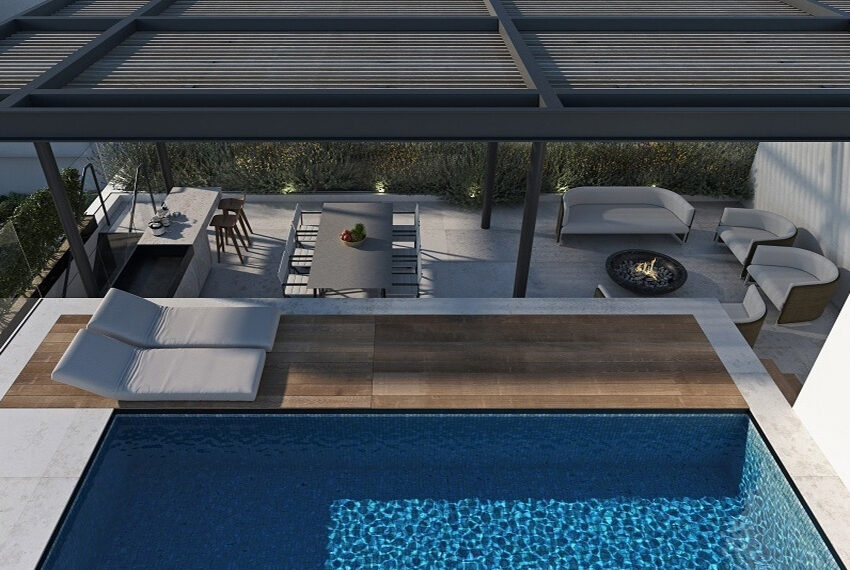 Penthouse for sale with private pool and roof terrace Limassol_10