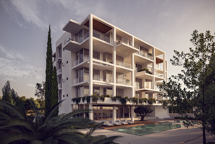 Luxury apartments for sale near sandy beach Paphos _2