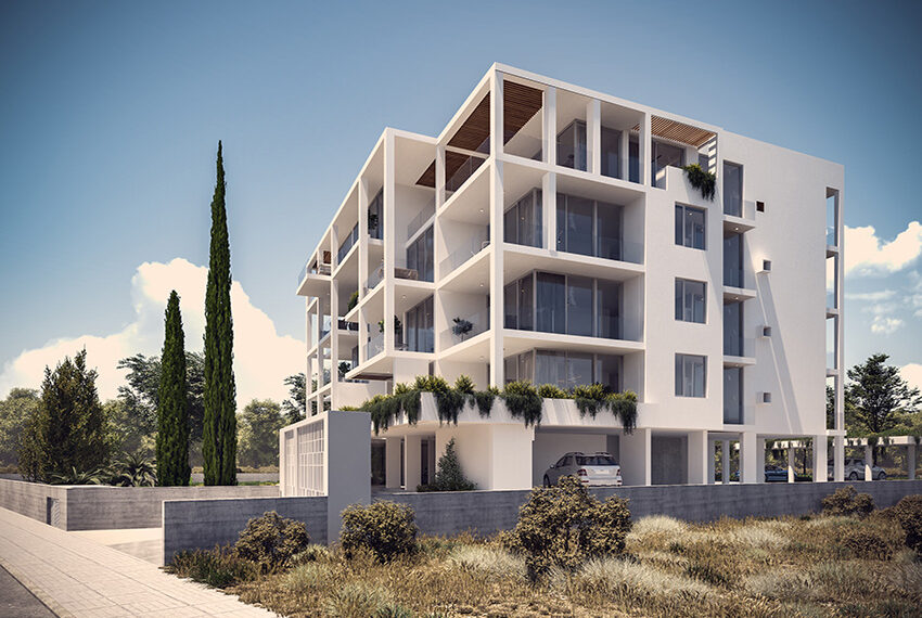 Luxury apartments for sale near sandy beach Paphos _5