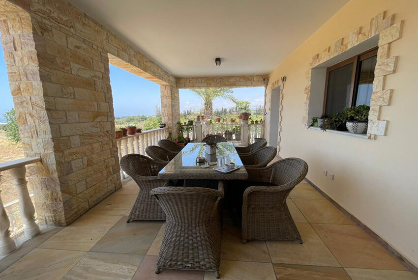 Luxury 6 bed house for rent with private pool & sea views Emba_3