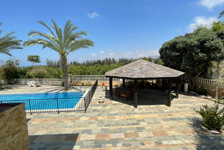Luxury 6 bed house for rent with private pool & sea views Emba_11