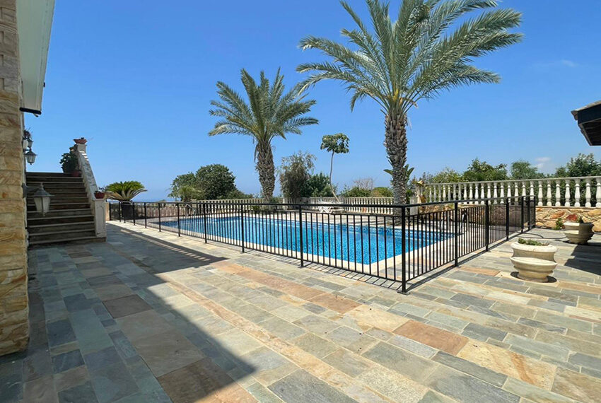 Luxury 6 bed house for rent with private pool & sea views Emba_22