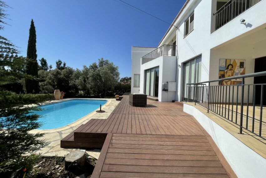 For rent villa with private swimming pool in lower Tala _3