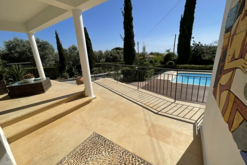 For rent villa with private swimming pool in lower Tala _7