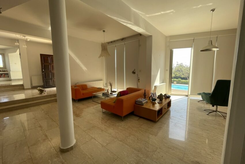 For rent villa with private swimming pool in lower Tala _11