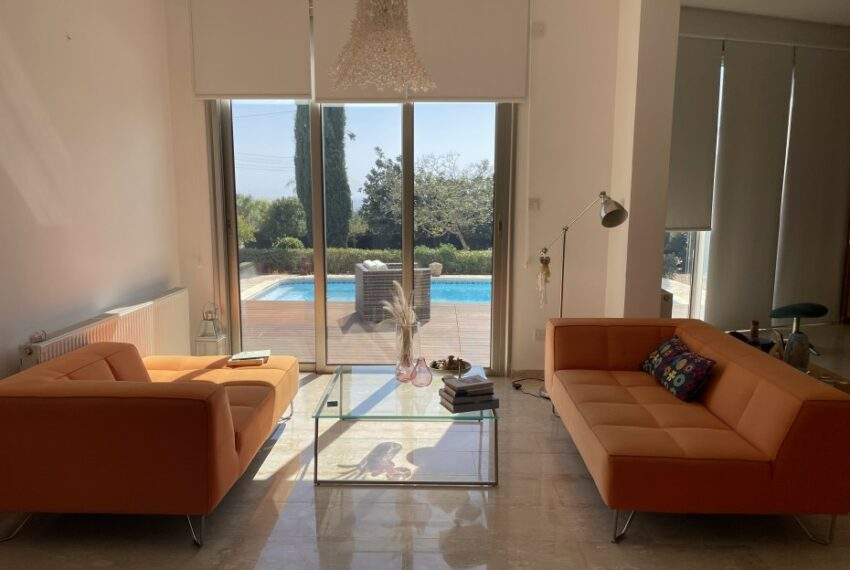 For rent villa with private swimming pool in lower Tala _23