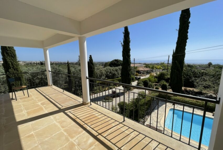 For rent villa with private swimming pool in lower Tala _32