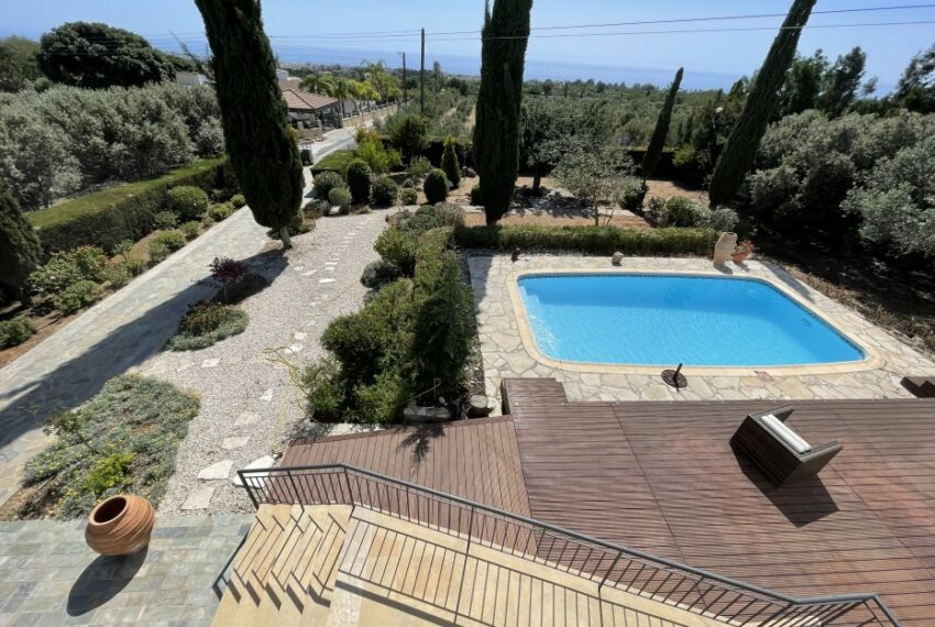 For rent villa with private swimming pool in lower Tala _34