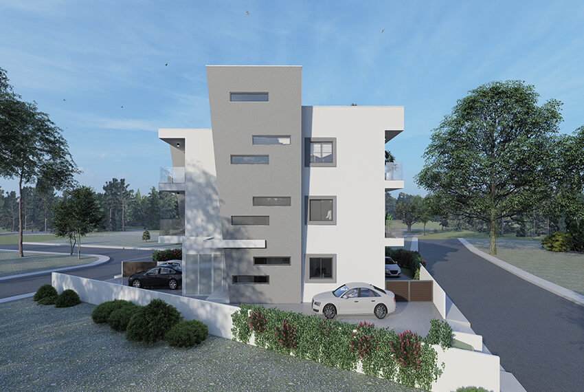 For sale new 3 bedroom apartment in Pano Paphos_2