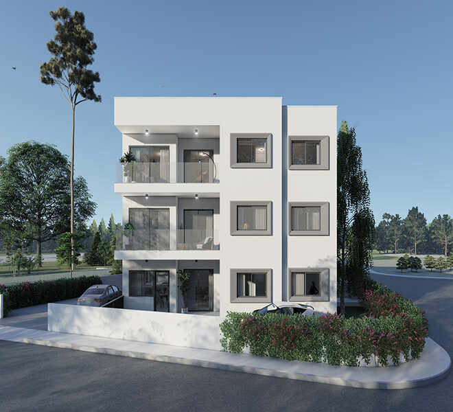 For sale new 3 bedroom apartment in Pano Paphos