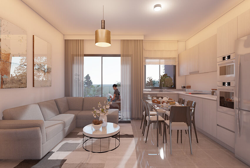 For sale new 3 bedroom apartment in Pano Paphos_14