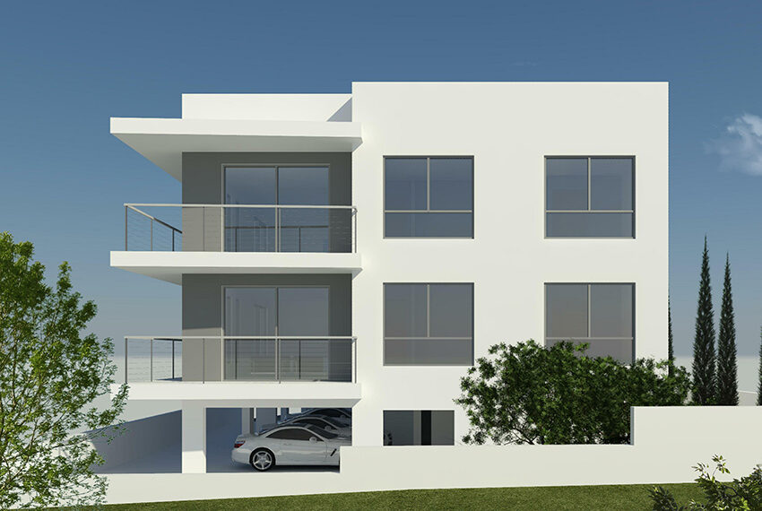 Modern apartments for sale in Petridia area Pafos_1